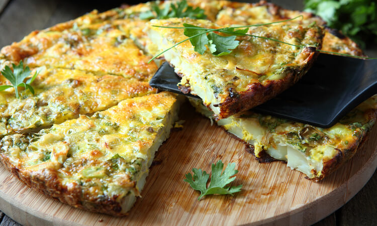 How To Make A Frittata With Potatoes: Quick And Easy Recipe