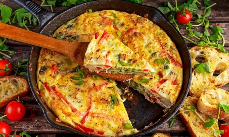 How To Make An Egg Frittata Easy Guide