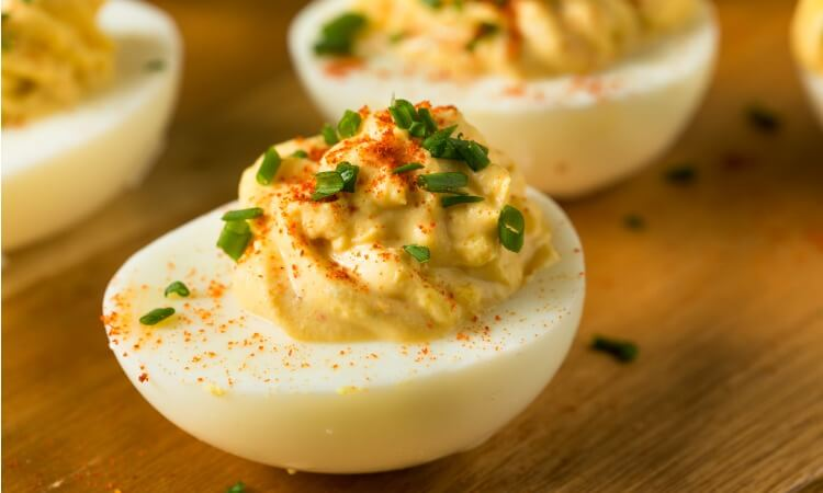 What Are The Ingredients For Deviled Eggs?