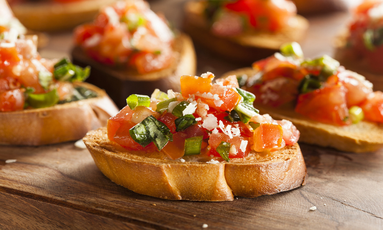 What Is The Difference Between Crostini And Bruschetta?