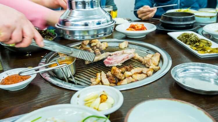 Restaurants Where You Cook On A Grill At The Table: Asian Diners